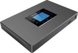 Grandstream - IP ústředna, až 1000x uživatelů, až 150 hovorů, 2x FXS, 2x FXO, 2x RJ45, POE, 2x USB