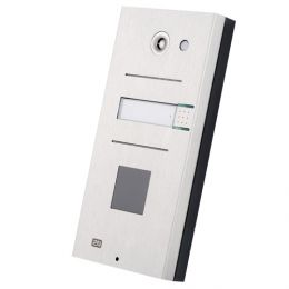 2N® Analog Vario, dveřní interkom, 1 tl., okénko pro čtečku karet