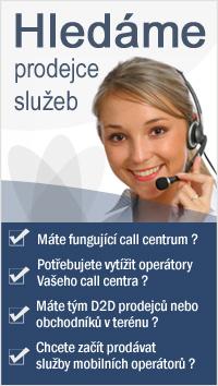 Call centrum - hledáme prodejce služeb