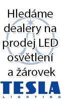 Hledáme prodejce LED TESLA