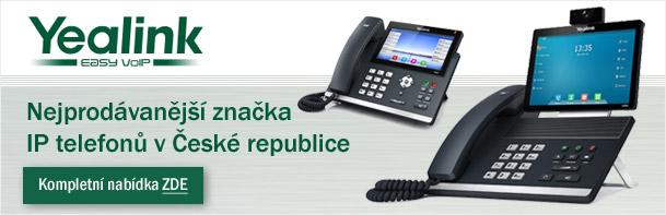 YEALINK - IP telefony