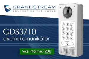 Grandstream - dveřní video komunikátor GDS3710