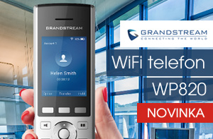 Grandstream WP820 - WIFI telefon