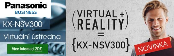 Panasonic KX-NSV300 - virtuální ústředna