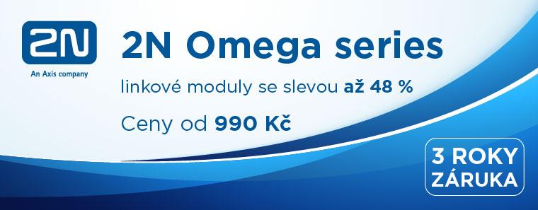 2N - Omega series linkové moduly se slevou až 48%